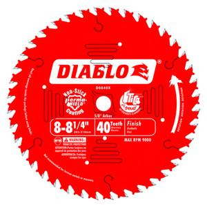 Freud FRE-D0840X Diablo 8‑1/4 in. x 40 Tooth Finishing Saw Blade