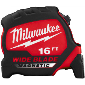 "Milwaukee 48-22-0216M 16"" Wide Blade Magnetic Tape Measures"