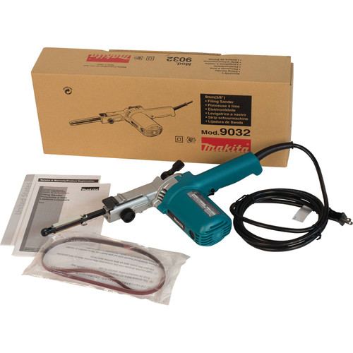 "Makita 9032 3/8x21"" Variable Belt Sander/Band File"