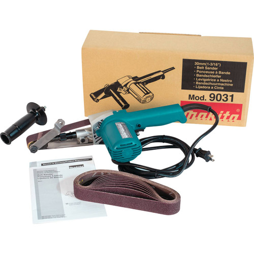 "Makita 9031 5.0A 1-3/16x21"" Belt Sander"
