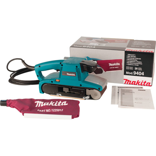 "Makita 9404 8.8A 4x24"" Electronic Variable Speed Belt Sand"