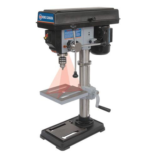 "King Canada KC-110N 10"" 2.5A Drill Press with Laser"