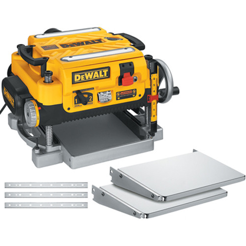 """DeWALT DEW-DW735XCAN 13"""" 15.0A Planer 2 Speed - WITH TABLE EXT & BLADES!!"""