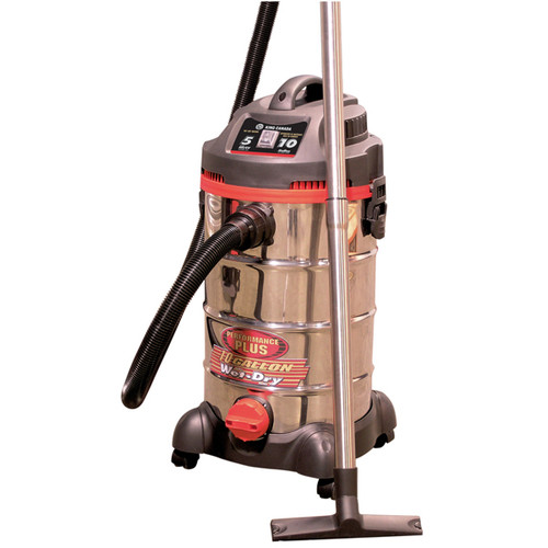 King Performance Plus 8540LST 10A Vacuum with Stainless Steel Tank
