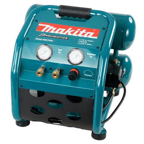 Makita MAK-MAC2400 4.2gal 4.2CFM Oil-Lubricated Compressor