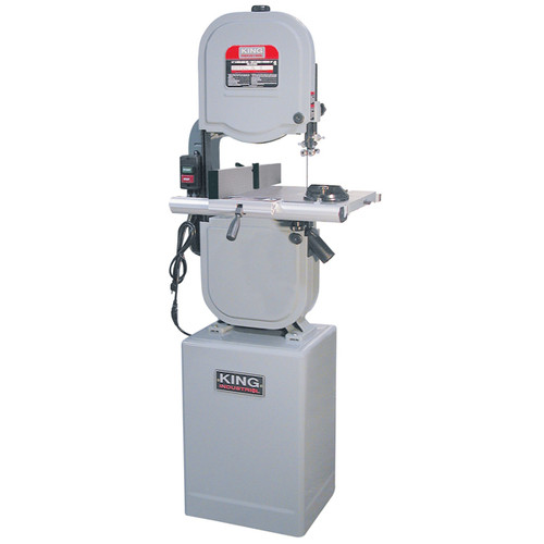 "King Industrial KC-1433FXR 14"" 10.0A 3-Speed Bandsaw with Resaw Fence"