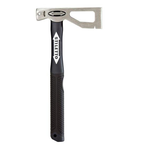 Stiletto Tool LATHAXE10-F 10oz Titanium Lather Roofer Axe