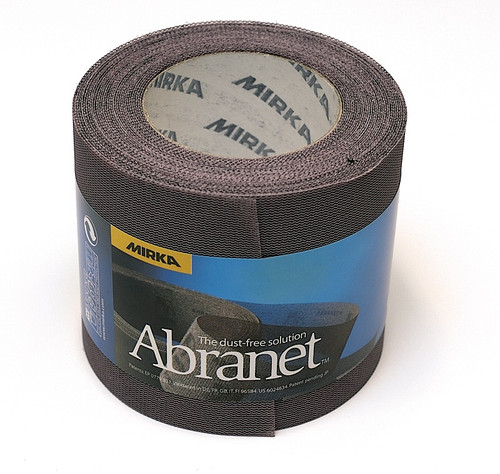 "Mirka Abrasives MIR-9A-570-120  120G, 2-3/4"" X  30ft, Abranet Mesh Grip Roll"