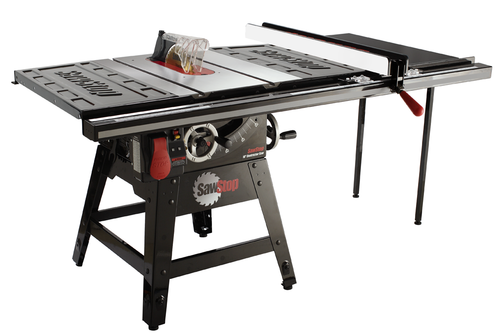 """SawStop SAW-CNS175-TGP236  CNS 1.75HP, 115/230V, 60Hz, 10"""" Contractor Saw with 36"""" T-Glide Fence System"""