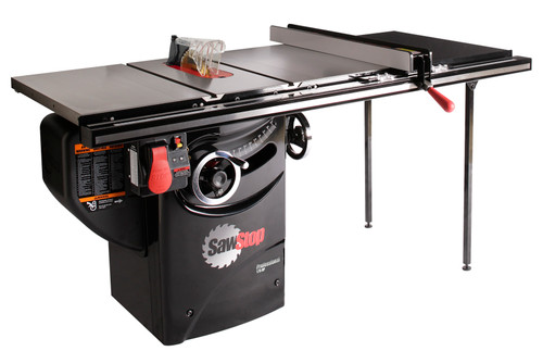 """SawStop SAW-PCS175TGP236  Professional Cabinet Saw 1.75Hp, 120V, 60Hz, 10"""" with 36"""" Fence"""