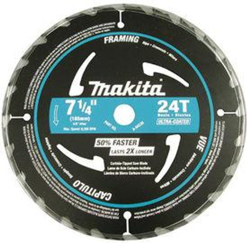 Makita A-94530  7-1/4 x 24T M-Force Blade Black