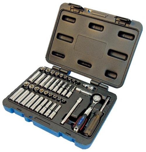 JET-600125 1/4 Drive 42 Piece Socket Set