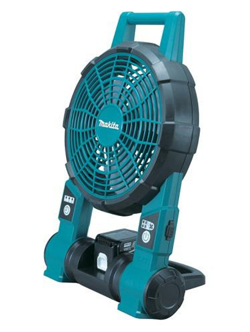 Makita DCF201Z 18V/14.4V Fan With AC Adaptor Fits Compact/Full Sized Batteries