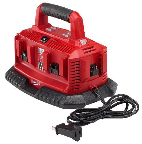 Milwaukee MIL-48-59-1806  M18 6 Bay Sequential Charger