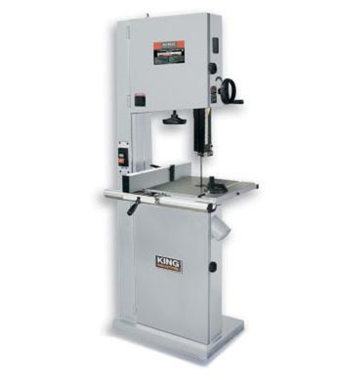 "King Industrial KC-1702FXB 17"" Wood Bandsaw With Resaw Guide"