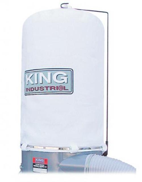 King Industrial KING-KDCB-3108T-1MIC Top Dust Bag / KC-3105 / KC-3108