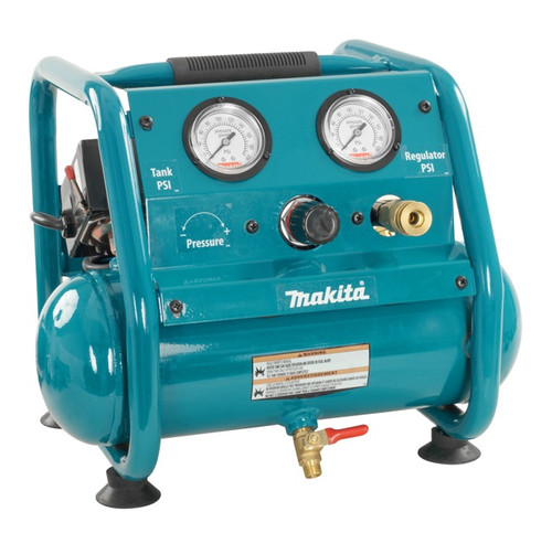 Makita AC001  1HP, 1GAL, 1.8A, Quiet Small Light Compressor