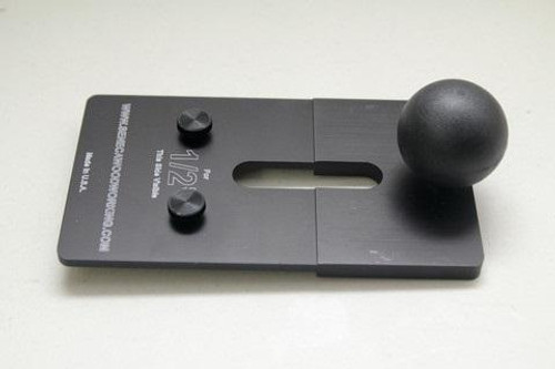 """Seneca Woodworking SW-DP01 DF500 Plate For 1/2"""" And 3/4"""" Nominal Ply, Repeatable Mortising"""