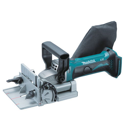 Makita DPJ180Z  18v LXT Plate Joiner, Tool Only Biscuit