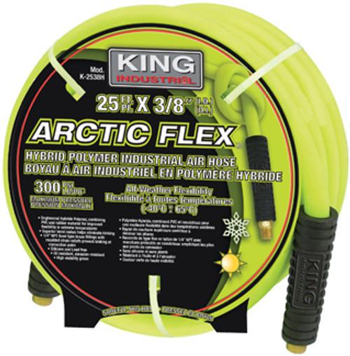 "King Canada K-5038H  Arctic Flex Industrial Air Hose, 50' x 3/8"" ID"