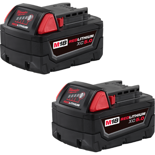 Milwaukee 48-11-1852 M18 REDLITHIUM 2-pack 5Ah Battery