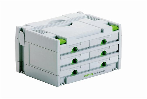 Festool FES-491984  Sortainer 6 drawers