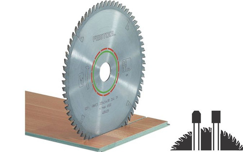 Festool FES-495382  Solid Surface / Laminate 60-Tooth Saw Blade (TS75)