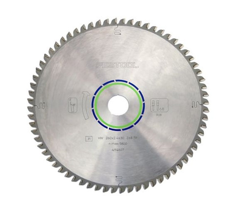 Festool FES-495386  Solid Surface/Laminate 64-Tooth Saw Blade