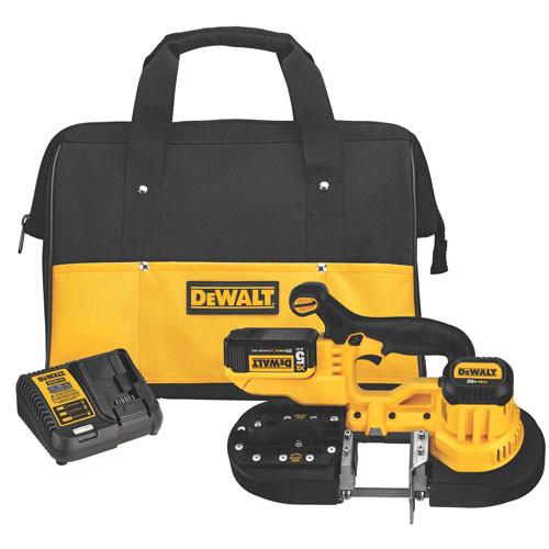 Dewalt DCS371P1  20V MAX Li-Ion Band Saw Kit with 5.0Ah Battery