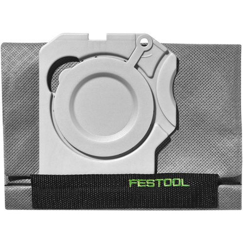 Festool FES-500642 Long-Life Filter Bag, 1x CT Sys Dust Extractor