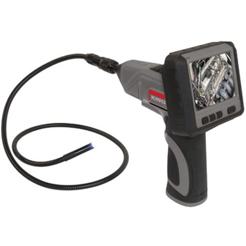 King Industrial KC-9200 Wireless Inspection Camera with Recordable LCD Monitor & Digital Zoom 3X