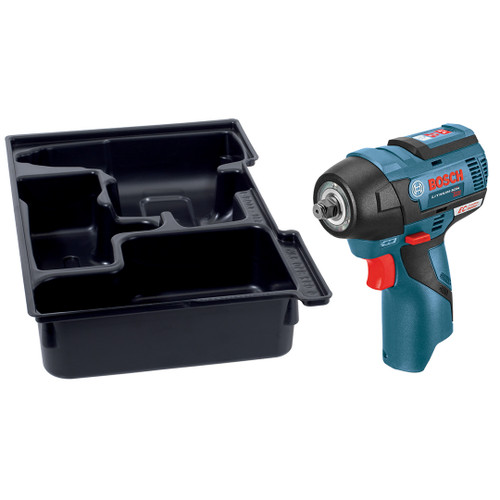 Bosch PS82BN  12V MAX EC Brushless 3/8 In. Impact Wrench with Exact-Fit Insert Tray