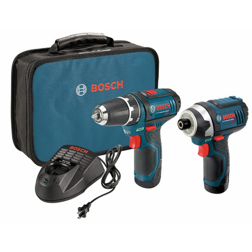 Bosch CLPK22-120 12 V Max 2-Tool Lithium-Ion Cordless Combo Kit