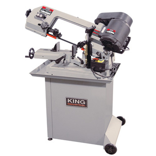 King Industrial KC-129DS  5 x 6 Dual Swivel Metal Cutting Bandsaw