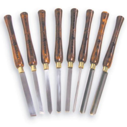 King Canada KPRO-08  8 Pc. Wood Lathe Chisel Set