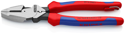 Knipex KNIP-0912240TBKA  Linemans Pliers with tether attachment point