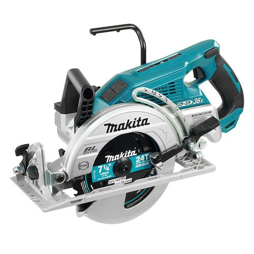 "Makita DRS780Z  18V x 2 - 7-1/4"" Cordless Rear Handle Circular Saw with Brushless Motor"