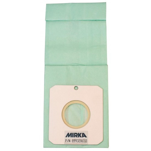 Mirka Abrasives MIR-MPA0465 Disposable Paper Dustbags - 10 Pack