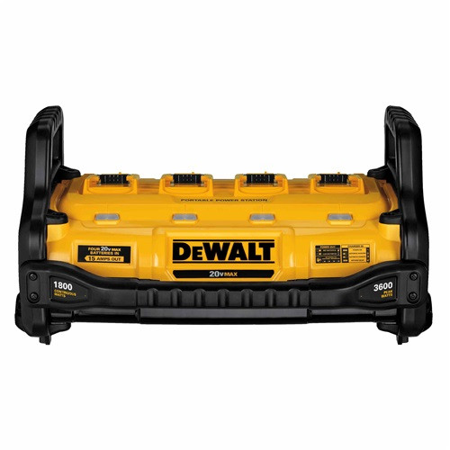 Dewalt DCB1800B 1800 Watt Portable Power Station And Parallel Battery Charger - 15 amps