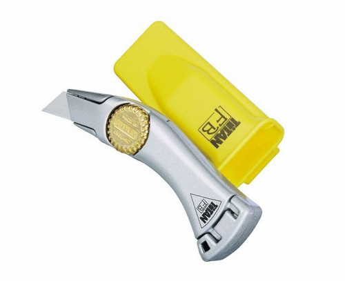 Stanley Hand Tools 10-550M  Titan Super Heavy Duty Fixed Blade Trimming Knife