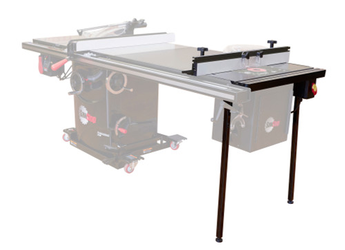 """SawStop SAW-RTTGP  ASSEMBLY: TGP2 27"""" In-Line Router Table (RT-F27, RT-PSW, RT-ST2, RT-C27)"""