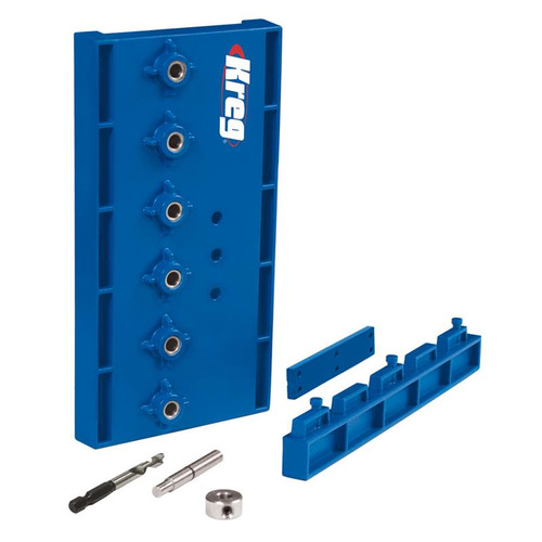 Kreg Tool KREG-KMA3220  Shelf Pin Jig with 5mm Bit