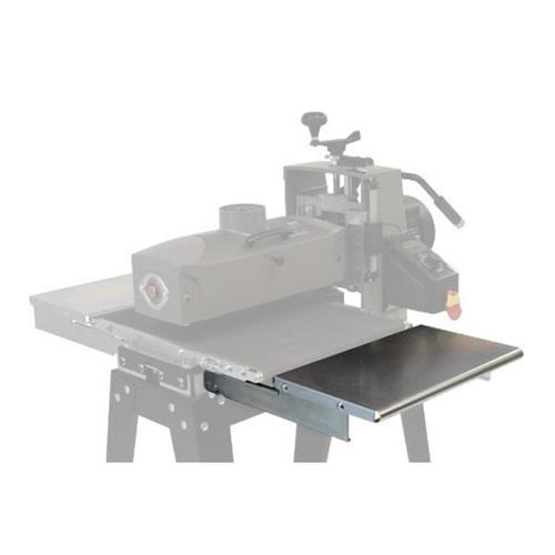 适用于x鼓式砂光机的Supermax SMX F折叠进料和出料表
