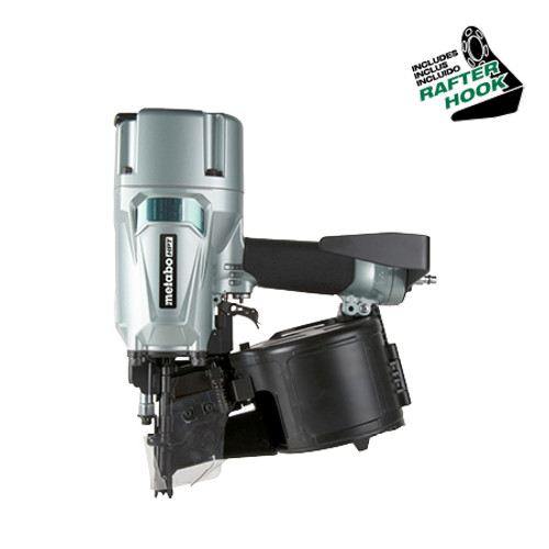 "Metabo-HPT HIT-NV83A5 83mm (3-1/4"") Coil Nailer (Wire Collated Coil Nails)"
