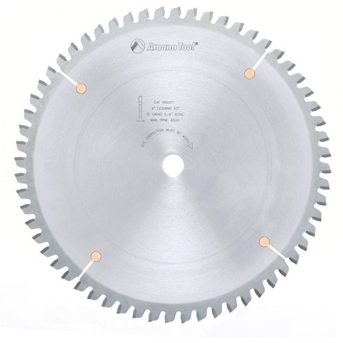 Amana AMA-MD260685  Aluminum / Plastic Blade For Festool Kapex