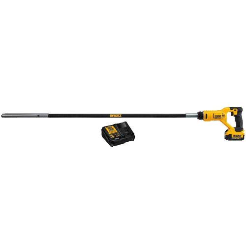 Dewalt DCE531M1  20V MAX Pencil Concrete Vibrator 4.0Ah Kit