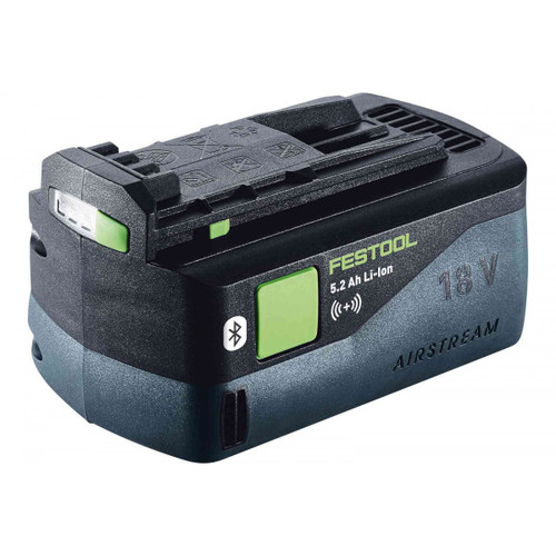 Festool FES-202480 Bluetooth 18V Airstream Lithium Ion Battery, 5.2AH