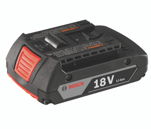 Bosch BAT612  18V Lithium-Ion 2.0 Ah SlimPack Battery