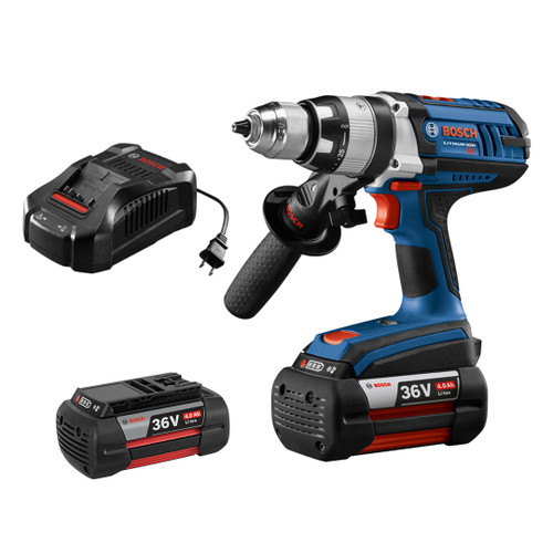 Bosch HDH361-01 36V Brute Tough 1/2 In. Hammer Drill/Driver Kit