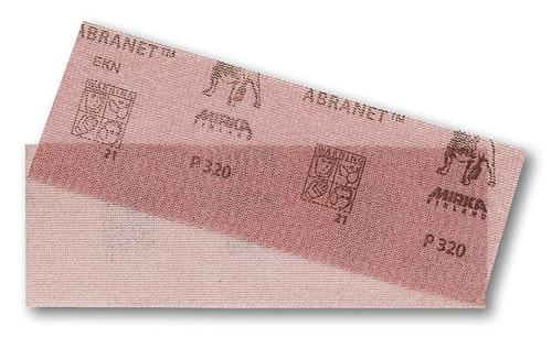 Mirka Abrasives MIR-9A-150-X  Abranet Sanding Net Grip Sheet - 2.75 In. x 8 In. - 50 Pack